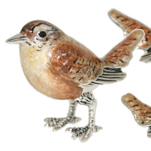 Saturno Sterling Silver Wrens 13083